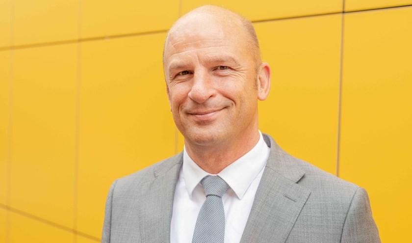 Bestuursvoorzitter Theo Rietkerk.