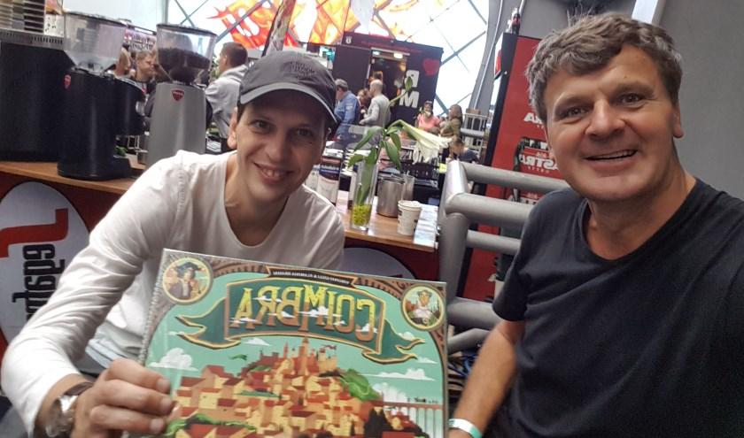 Stefan en Tonny zijn en zoeken liefhebbers van bordspellen.