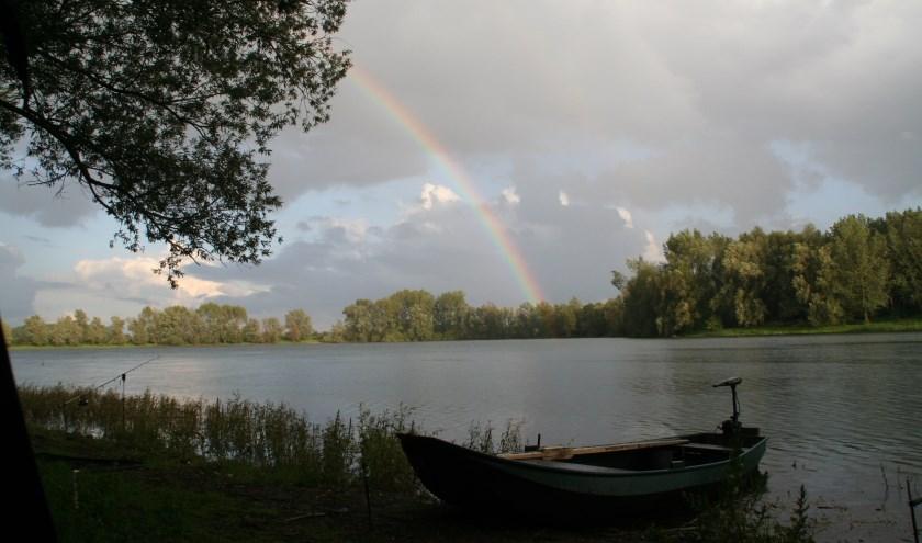 Rust en een prachtig uitzicht tijdens het vissen