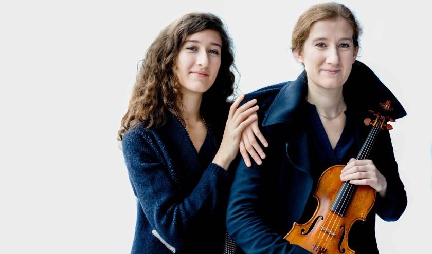 Maria en Nathalia Milstein treden 24 januari op in Schiedam.
