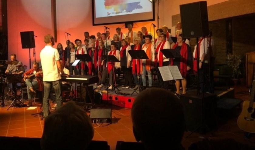 Ontmoetingsdienst in De Ark-Krimpen met gospelkoor Rejoice uit Krimpen a/d Lek.