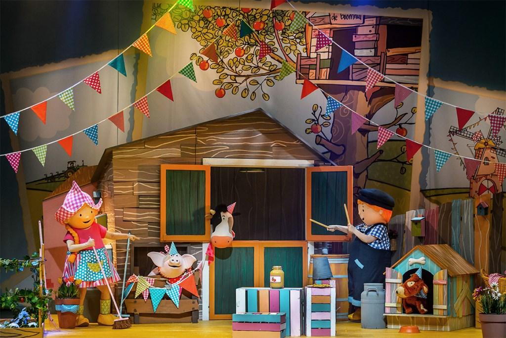 Theatershow Fien & Teun - Feest op de Boerderij en Fien e& Teun TV-serie (Foto: Wim Lanser) Foto: Wim Lanser © DPG Media