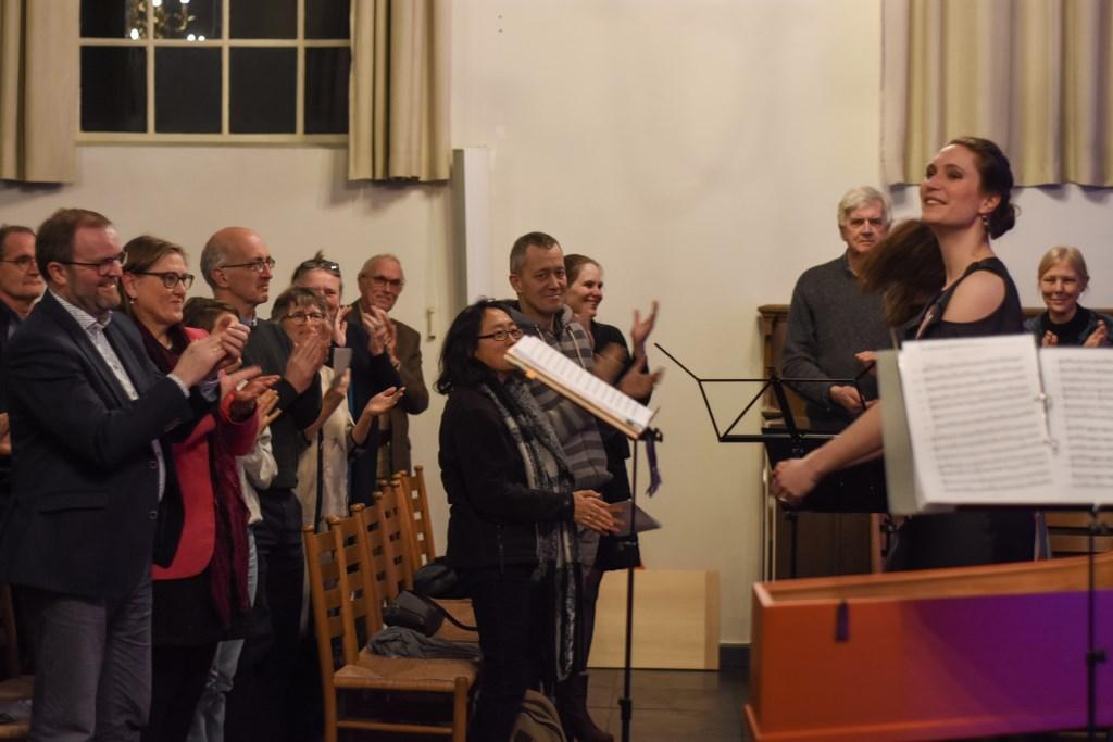 Mezzo sopraan Rosina Fabius ontvangt staande ovatie Foto: Casper Baghuis © DPG Media