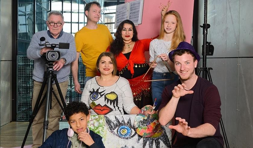 Coverfoto WAK 2019: enkele deelnemers van vorig jaar.