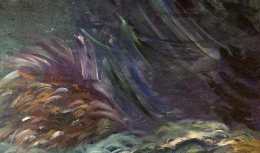 Een gezamenlijk werk, door meerdere kunstenaars van Kunst-Zinnig-Brein