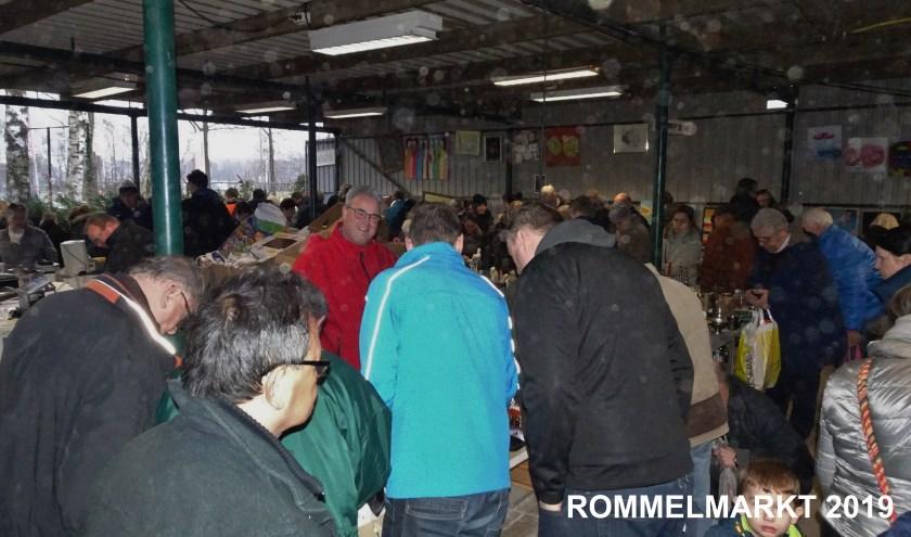 Archieffoto rommelmarkt vorig jaar.