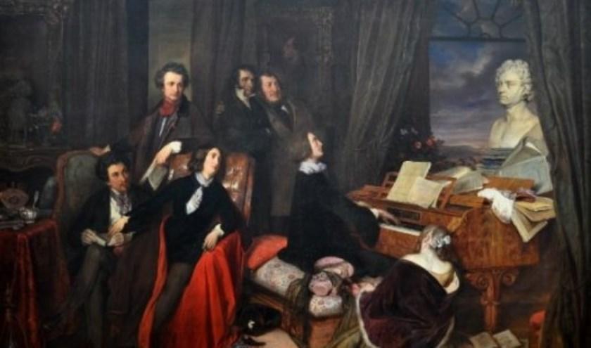 Negentiende-eeuwse kamermuziek in piano en zang. Foto± PR
