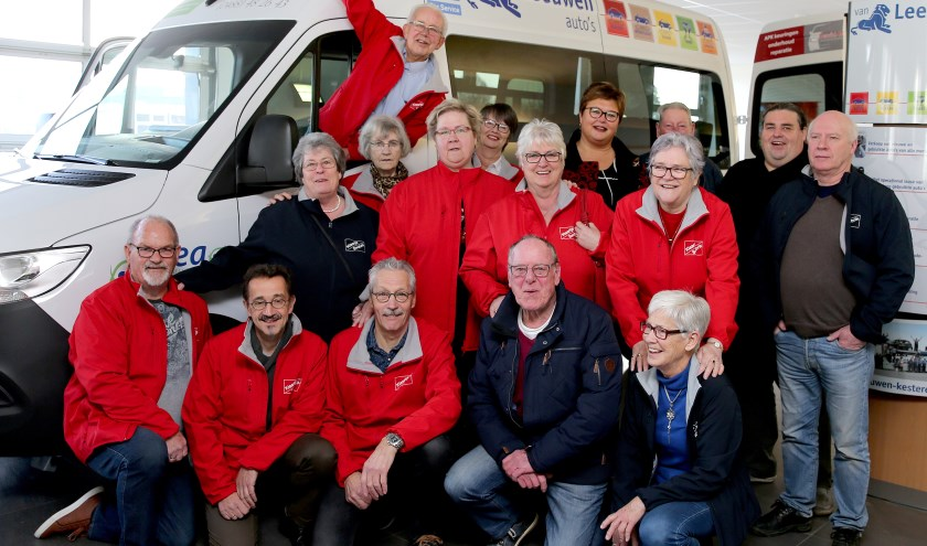 Vrijwilligers van Swobrik en Klaartje. (foto: 3JetFotografie)