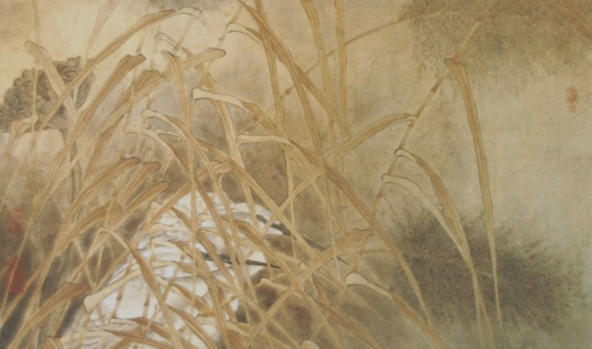 Reigers in het riet, Gu Xuan