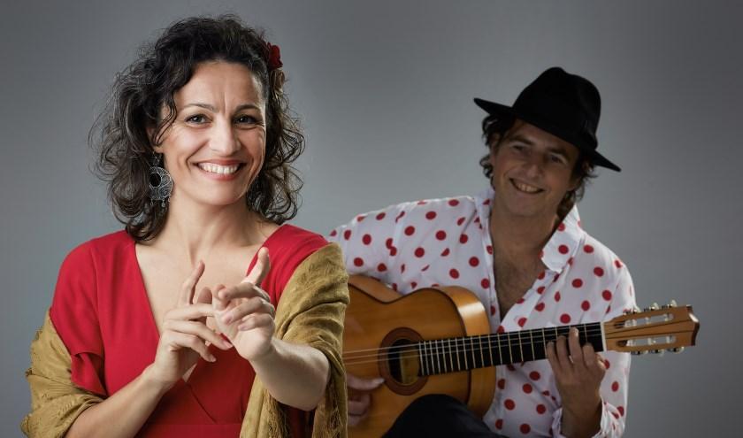 Monica Coronado en Manito zijn te horen in het Schillertheater. Foto: PR