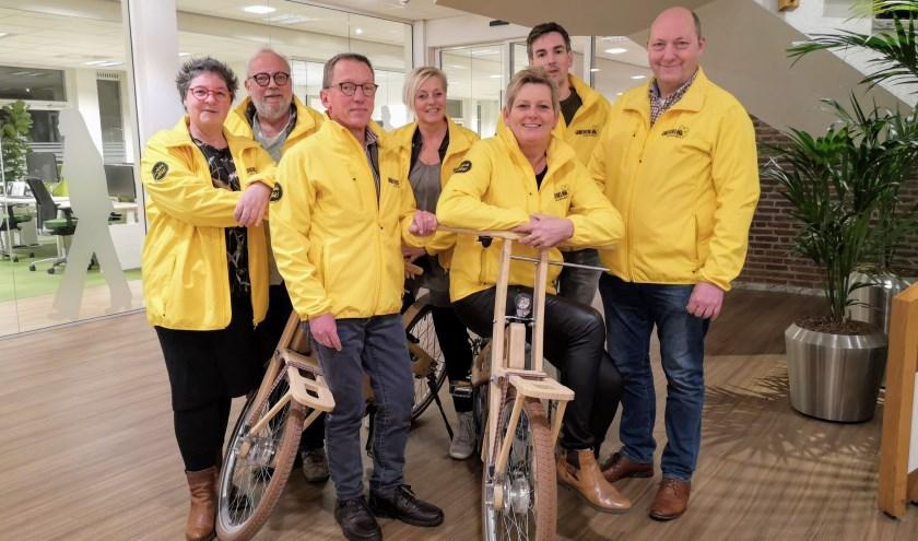 De fractieleden van Gemeentebelang Nunspeet. (Foto: Gemeentebelang)