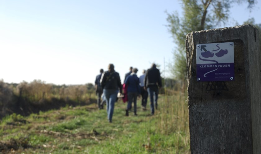 In de omgeving van Pannerden wordt een nieuw klompenpad aangelegd. Bewoners kunnen plaatsnemen in een speciale werkgroep. (foto: PR)