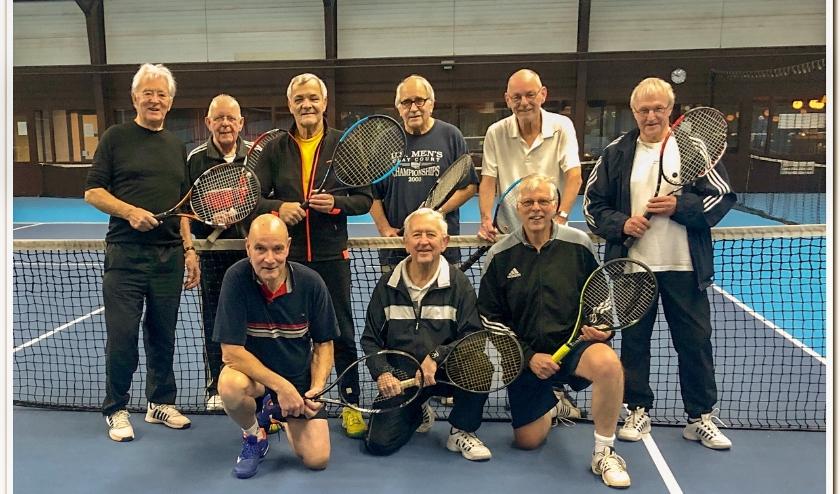 'Heeren van Twente' is op zoek naar nieuwe tennissers. (Foto: Frits Suers)