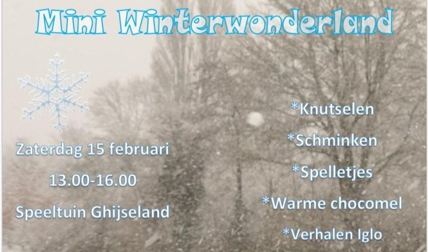 Een hele middag winterpret aan het Ghijseland in Rhoon.