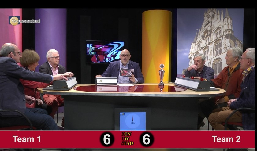 In de KUSQuiz strijden vier teams tegen elkaar voor de fel begeerde Fer Groeneveld wisselbeker. Foto: PR