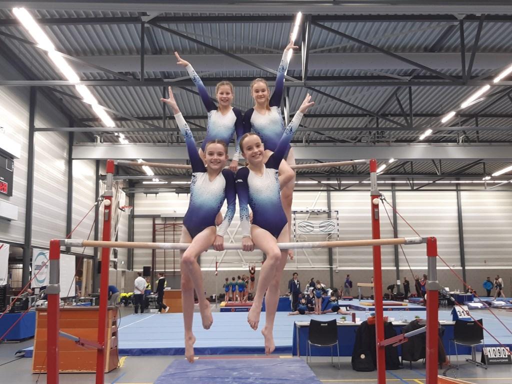 Jiska Bishop, Saar van Hemert, Isa Smits en Lieve van de Vijver.  © DPG Media