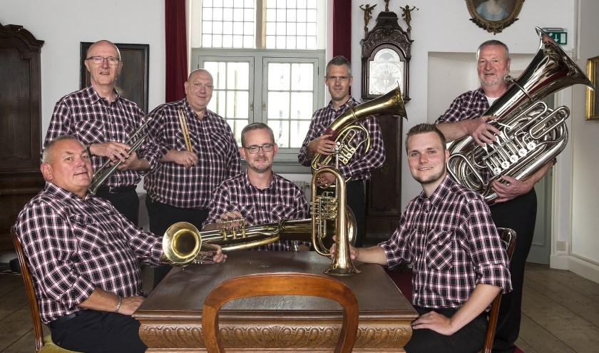 De muzikanten van Liemers Böhmische zien je graag op 25 januari in 't Kelrehuus in Kilder. (foto: PR)