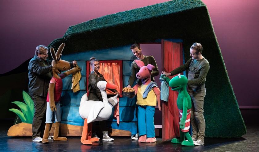 Een avontuurlijke voorstelling met Kikker en zijn vriendjes. Zondag 26 januari is Kikker te zien bij Theater aan de Parade.