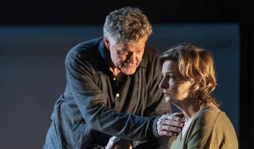 Porgy Franssen en Jaqueline Blom in 'Tonio'