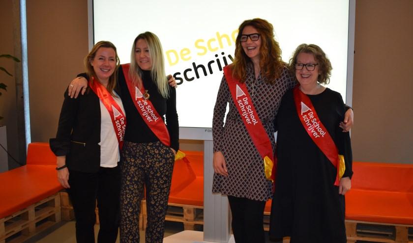 Van links naar rechts: Marlies Slegers, Li Lefebure, Anja Vereijken en Annemarie Bon.
