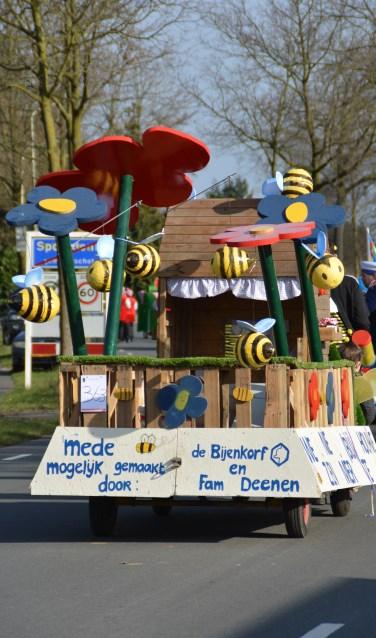 Op 24 februari zal de carnavalsstoet door Spoordonk trekken.
