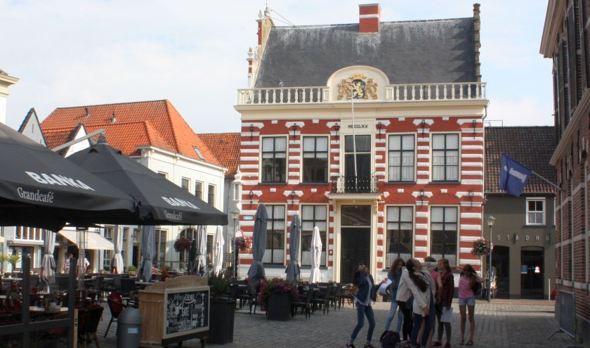 Het stadhuis van Hattem.
