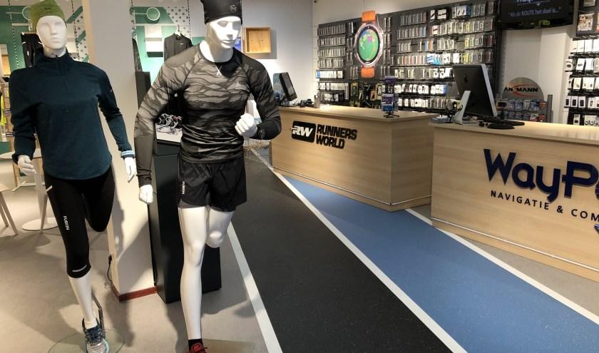 Vandaag, dinsdag 7 januari, opent Runnersworld Twente de deuren aan de Rijssensestraat 170 in Wierden. (Eigen foto)