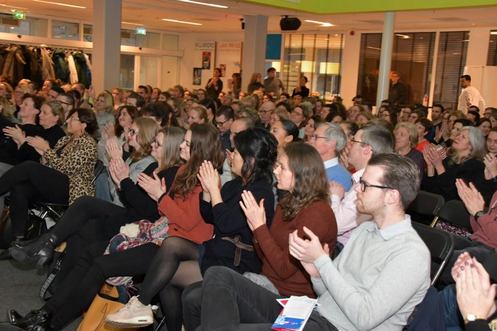 Deelnemers reageerden enthousiast Foto: Pim Geurts © DPG Media