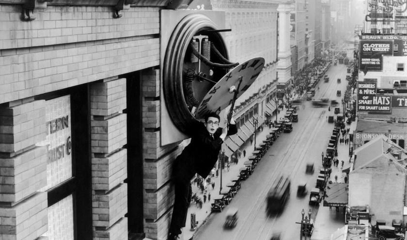 Safety Last (1923), met Harold Lloyd in de hoofdrol, is de hoofdfilm tijdens Slapstick Saturday. (Foto: Nederlands Silent Film Festival).
