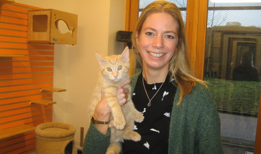 Als directeur van de dierenambulance ziet Ninouk zich ook gesteld voor de uitdaging om niet voor de charmes van een katje te vallen.