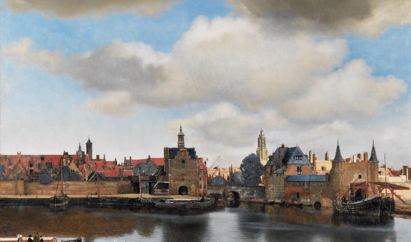 Gezicht op Delft – Johannes Vermeer – Mauristhuis, Den Haag