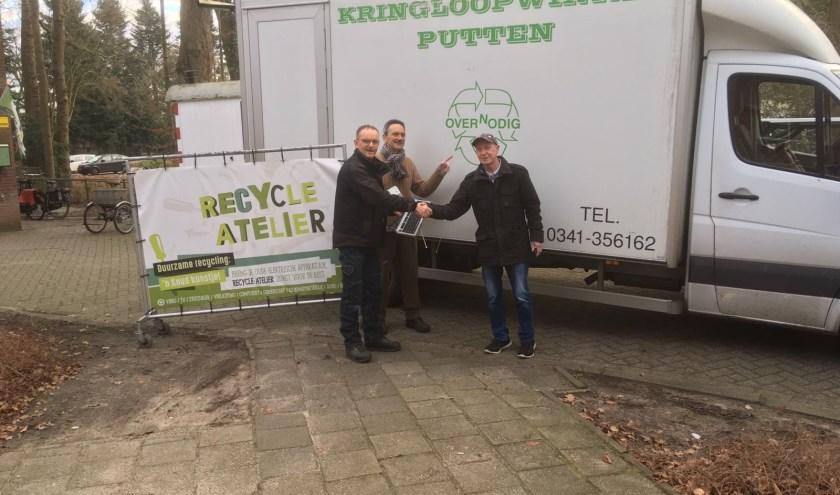 recycling team leider Frans  LINKS