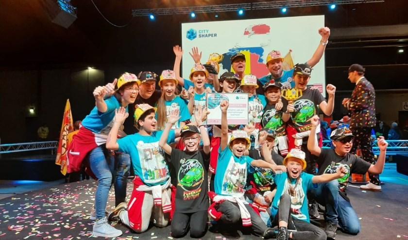 De deelnemers van basisschool de Telgenborch zetten uitstekende prestaties neer!