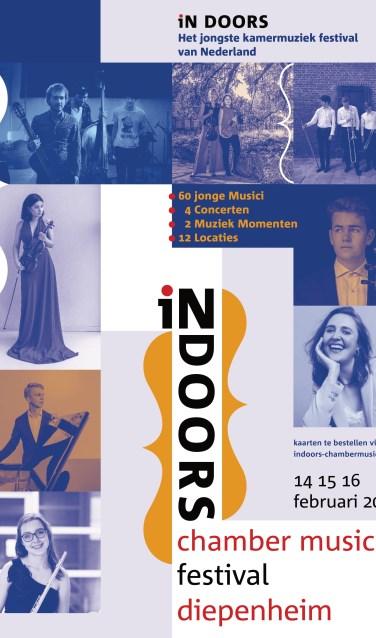 Poster IN DOORS chamber music festival