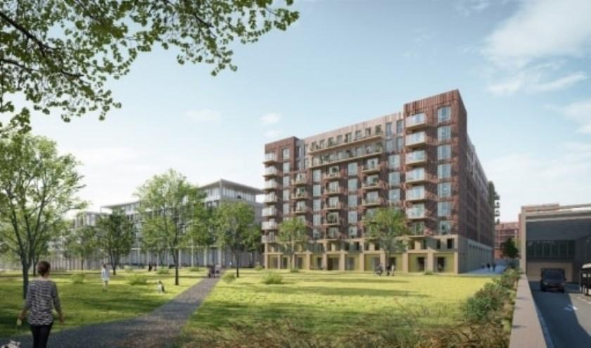 Om de snelgroeiende stad van woningen te voorzien ligt er een plan voor Leidsche Rijn. Foto: PR