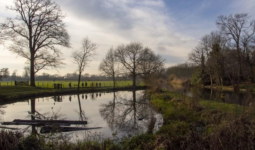 De wandelroute De Kromme Rijn loopt onder andere door Landgoed Oud-Amelisweerd. Een mooi landgoed met een rijke historie.