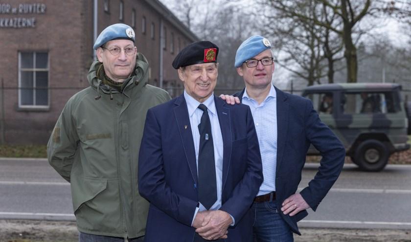 Bart van Lier, Marinus Pijnenburg en Eric Sessink e.a. blazen V(O)MO nieuw leven in op 5 februari. (Foto: Yvonne Vloemans Fotografie)