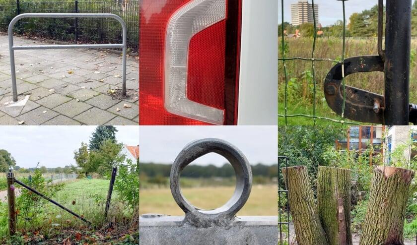 <p>Het Wagenings ABC bestaat uit letters die per ongeluk zijn gegroeid of gemaakt. (foto: Dorien Roggekamp)</p>