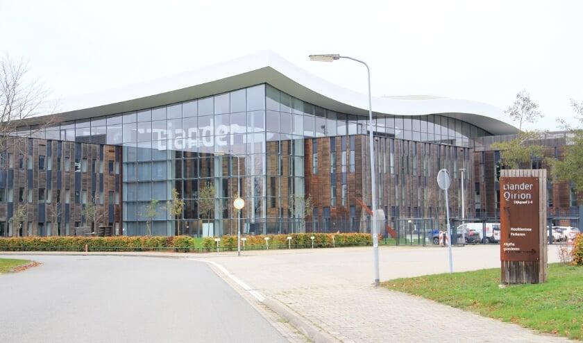 <p>Het complex van Liander op bedrijventerrein Nieuwgraaf in Duiven.</p>