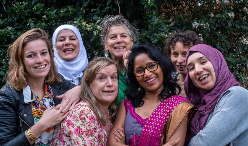 vrouwen van de organisatie
