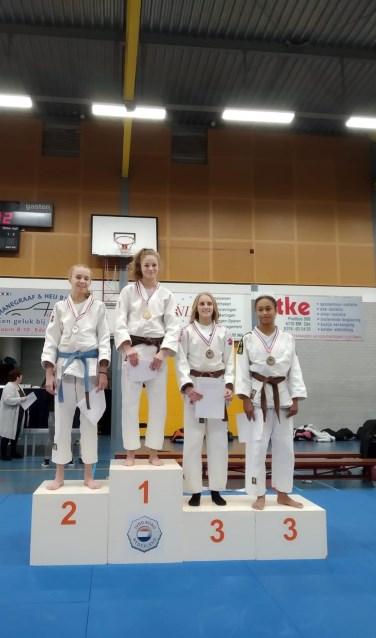 2e plaats Anouk de Kruijff