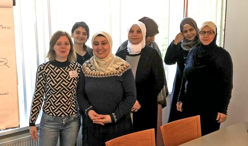 Matanja en haar 6 leerlingen