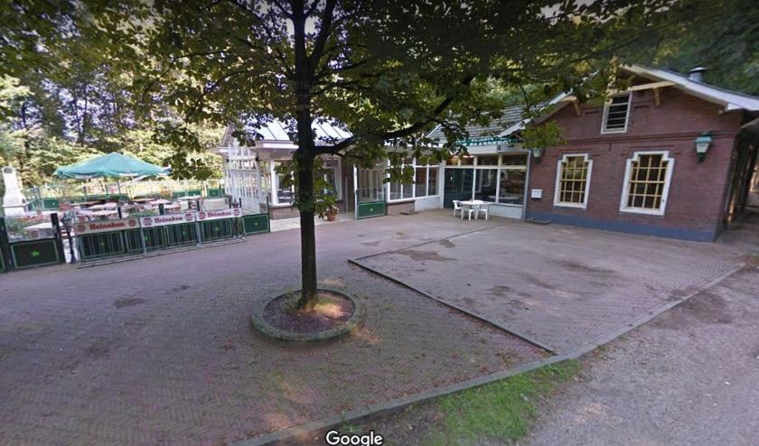 Voormalige café De Paasberg.
