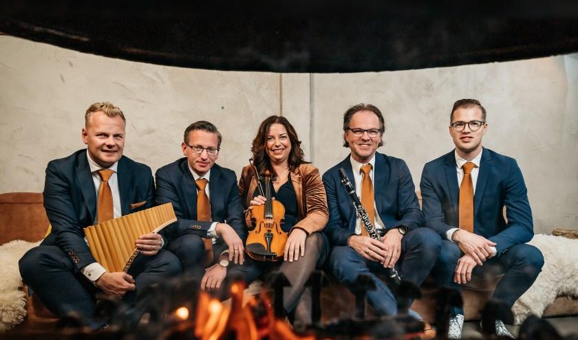 Op zaterdag 15 februariwordt in de Hervormde Kerk van Stolwijk een bijzonder instrumentaal concert gegeven.  door 'Take Five'.