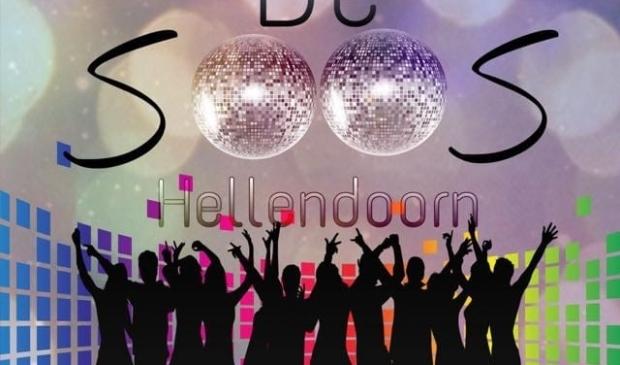 Het logo van De Soos maakt helemaal duidelijk wat de bedoeling is: een gezellige avond met goede muziek en fijne vrienden. (Foto: Richard de Jong) Foto: Richard de Jong © DPG Media