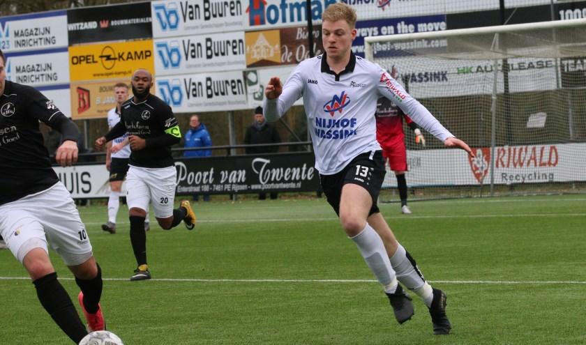 Aron Pouls van SVZW. (Foto: Henk Steen)