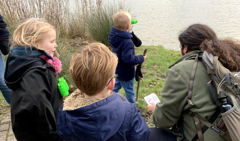 De eerste editie van de familiewandeling was een groen succes. Foto: Femke de Kock/Sportief Besteed Groep
