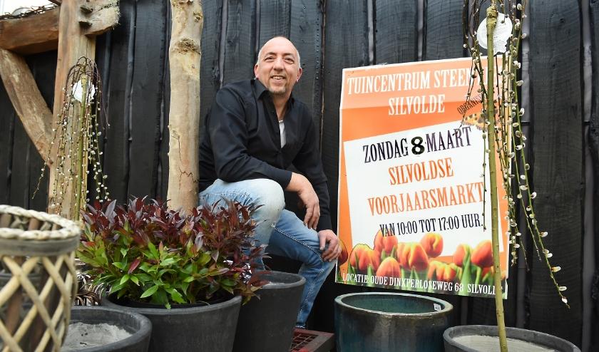 Ondernemer van de week: Robert Steentjes. (foto: Roel Kleinpenning)