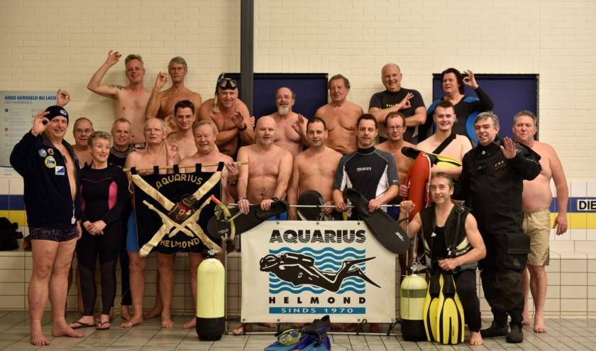Duikvereniging Aquarius is vijftig jaar jong en dat viert ze met een receptie op 1 maart.