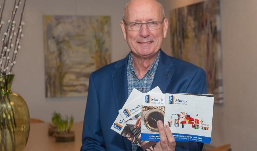 Andries Westerholt, voorzitter Stichting Muziek met een Plus. (foto: Eva Posthuma)